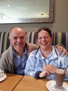 Being Bettina's Dad: Bettina and I in South Devon
