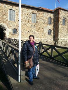Bettina Colchester Castle (2) 10 Mar 15