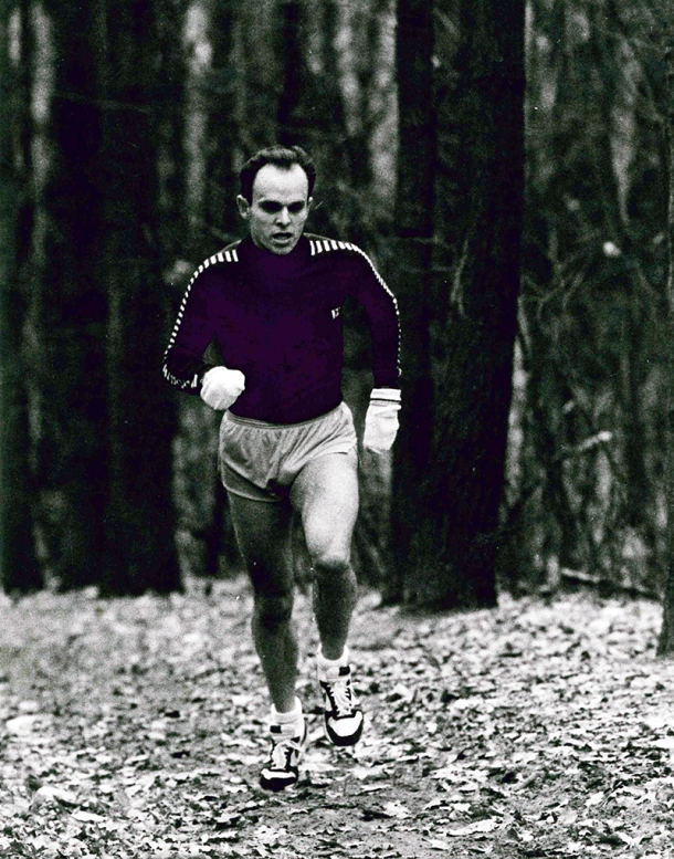 Running in Spandau Forrest 1988